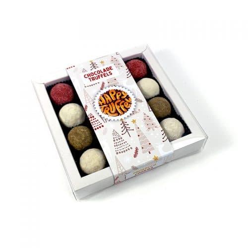 Chocoladetruffels kerst chocolade - Kerstboom editie