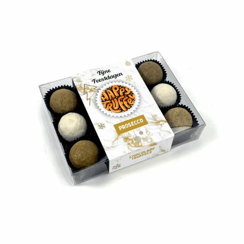 Chocoladetruffels prosecco - Feestdagen editie