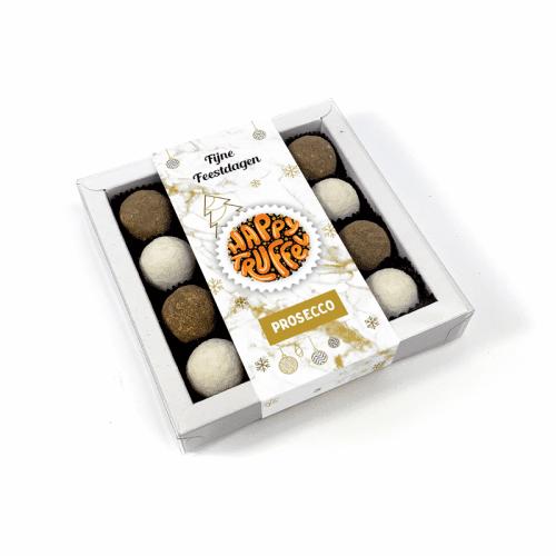 Chocoladetruffels chocolade cadeau - Prosecco smaak 16 stuks