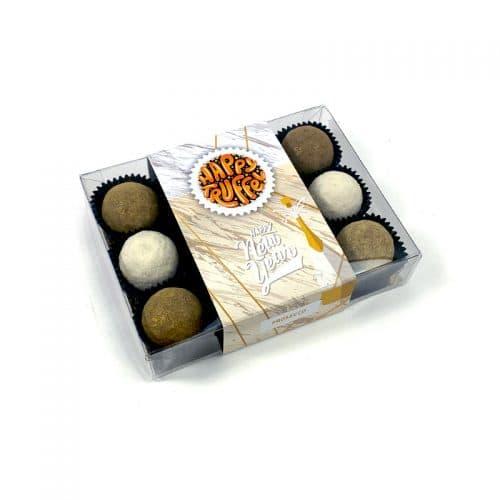Chocoladetruffels met Proseccosmaak - Happy New Year (12 stuks)