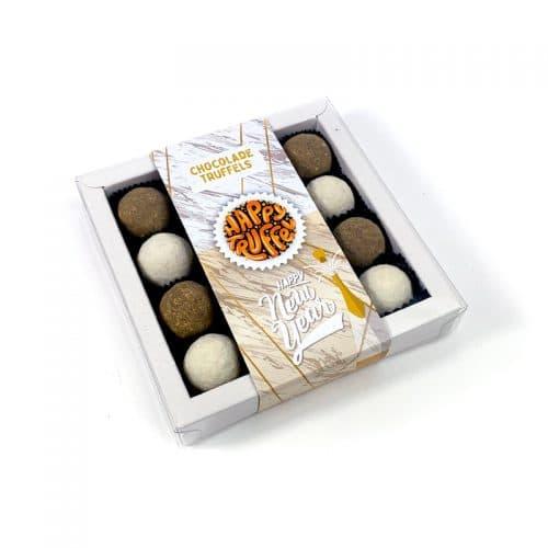 Chocoladetruffels - Happy New Year editie 16 stuks