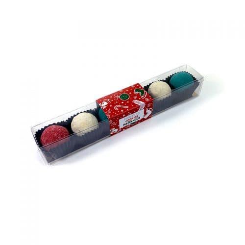 Chocoladetruffels Hazelnoot, Cookie en Prosecco - kerstspecial
