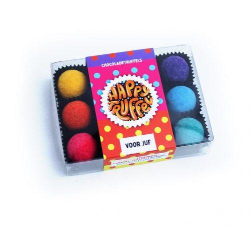 chocoladetruffels-cadeau-juf